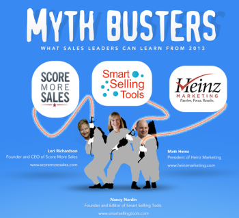 9 b2b sales myths