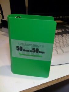 50 Ways in 50 Days Sales Tips Book