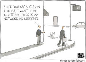sales mistakes on LinkedIn
