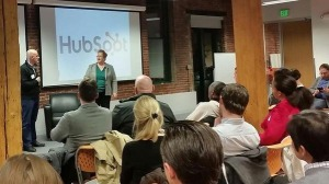 Speaking at Hubspot about Sales Prospecting Success