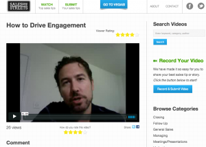 Gain sales tips with short videos