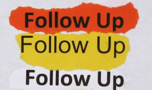follow up NOW to grows sales sales strategy