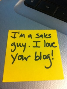 im a sales guy
