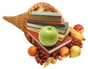 turn books into food