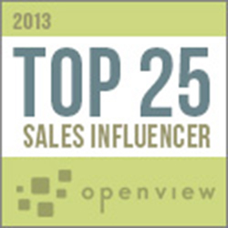 OpenView Top 25 Sales Influencers for 2013