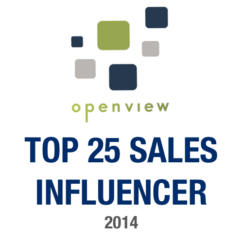 OpenView Top 25 B2B Sales Influencers for 2014