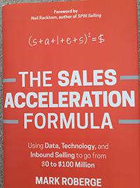 The Sales Acceleraation Formula - Mark Roberge