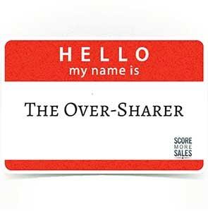 Over Sharer