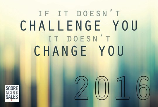 Challenge New Year But Same Old You