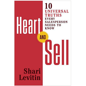 Heart and Sell - author Shari Levitin