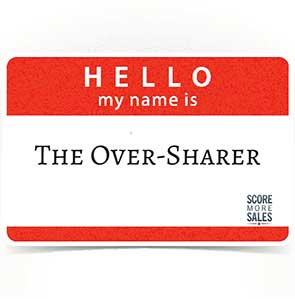 Are You An Over Sharer