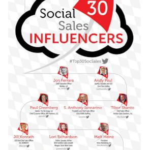 Top 30 Social Sales Influencers